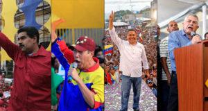 Venezuela elecciones candidatos 2018