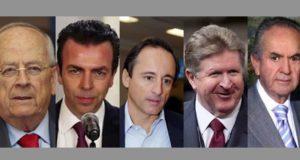 Los 5 empresarios que encabezan el frente Anti-AMLO en el CMN