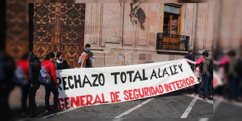 Declaran inconstitucional la nueva Ley de Seguridad