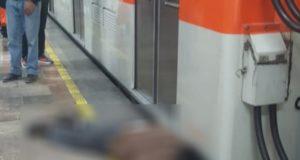 Muere por asomarse en túnel del Metro Allende