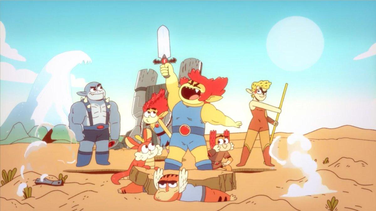 Cartoon Network viola otra serie, presenta los... Thundercats...  Thundercats