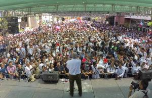 AMLO promete revertir privatización del agua, firmada por Peña Nieto