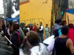 Agreden a brigada de Morena en Álvaro Obregón (Video)