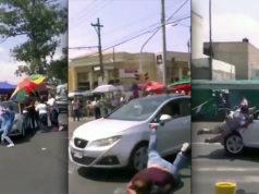 Atropella a personas que se manifestaban por escasez de agua en Iztapalapa