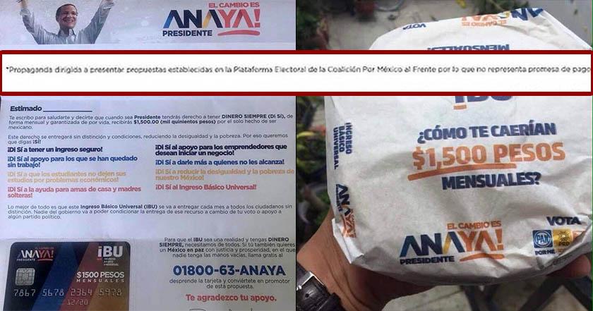 b754fd6cb6563 Comienzan a entregar tarjetas sin fondos de Anaya en Coyoacán  en ...