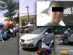Encarcelan a sujeto que embistió a manifestantes que exigían agua en Iztapalapa