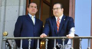 Javier Duarte y Luis Ángel Bravo Contreras