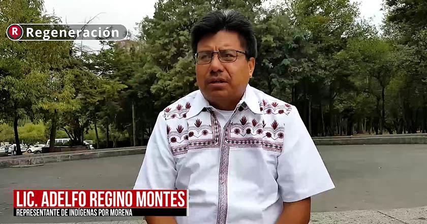 Habrá representación indígena a nivel nacional con AMLO: Adelfo Regino