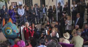 Inauguran el espacio Fundación Elena Poniatowska en la Ciudad de México