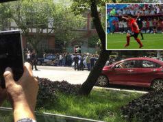 Méxicanos celebran en embajada de Corea por su victoria sobre Alemania (Videos)