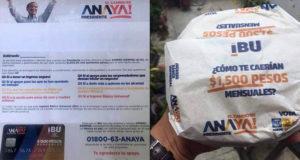 Ricardo Anaya, desesperado, reparte tarjetas sin fondos, como el PRI en Edomex