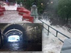 Se desborda Presa de la Olla por lluvias; se inunda Guanajuato