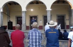 Se organizan en Pahuatlan, Puebla, contra la privatización del agua