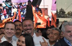 Vuelven a abandonar evento de Ricardo Anaya, esta vez en Neza (Video)