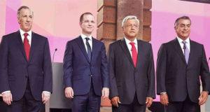 candidatos presidenciales tercer debate presidencial 2018 ine