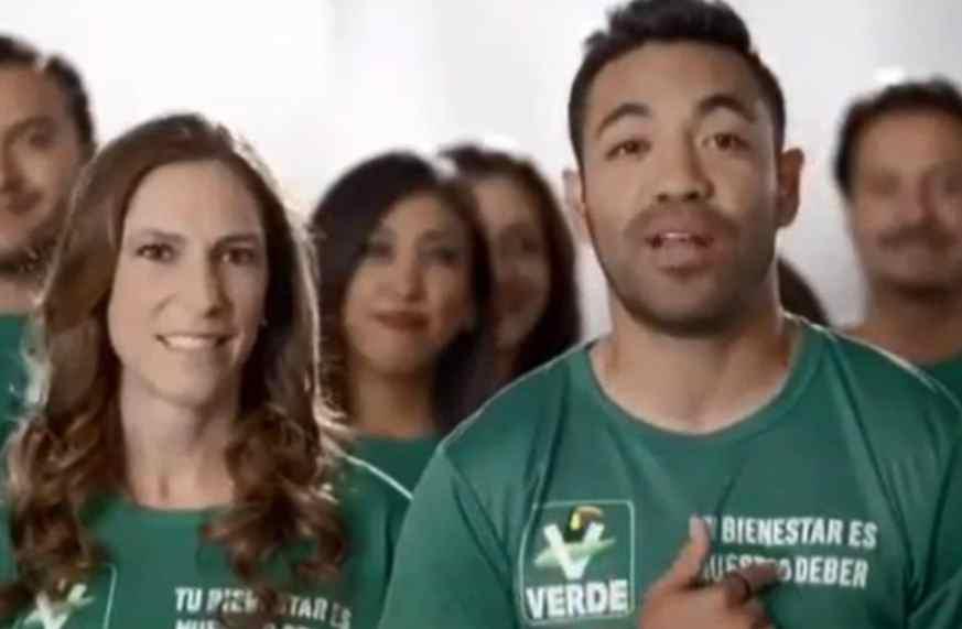 Marco Fabián aparece en spot de Partido Verde Ecologista; podría ser multado