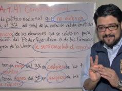 Académico demuestra que no sólo PES y Panal deben perder registro