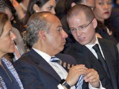 Anayistas pretenden expulsar a Calderón y a su gente del PAN