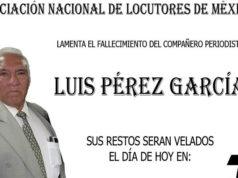Asesinan al periodista Luis Pérez García en su domicilio en Iztapalapa