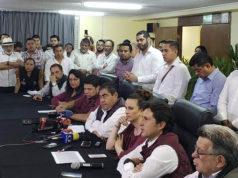Barbosa no aceptará resultados de elección en Puebla; convoca a marcha
