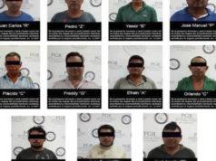 Detienen red de 15 presuntos huachicoleros en Campeche