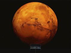 Hallan agua en Marte; es un gran lago debajo del hielo
