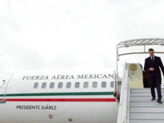 Peña Nieto no se pudo subir al Avión Presidencial por fallas