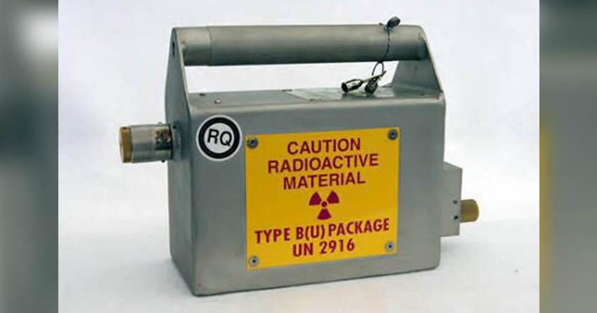 Emiten alerta por robo de fuente radiactiva