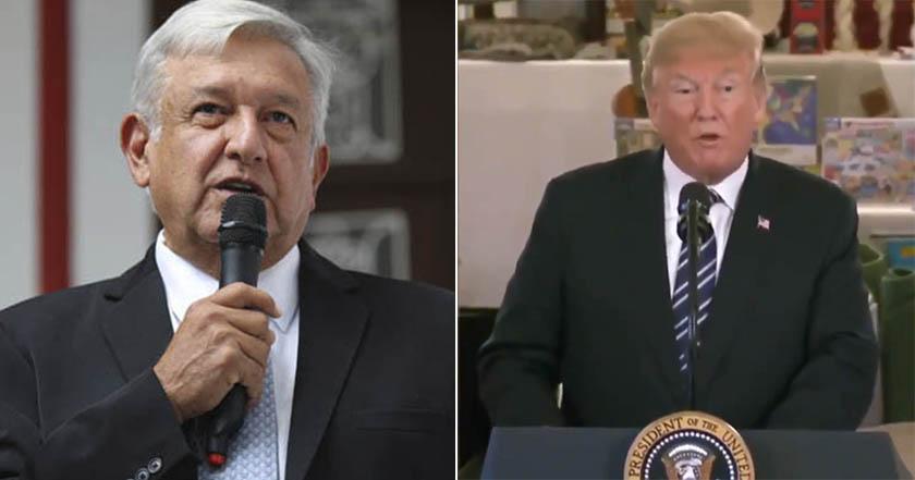 Donald Trump, AMLO, lopez obrador
