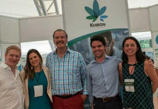 Fox fue designado embajador de una marca de cannabis medicinal