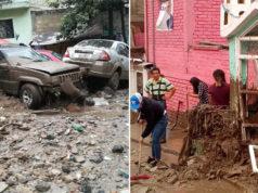 Deslave arrastra autos y daña vivienda en Valle Dorado, Naucalpan (imágenes)