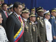 Detienen a seis por el atentado contra Nicolás Maduro