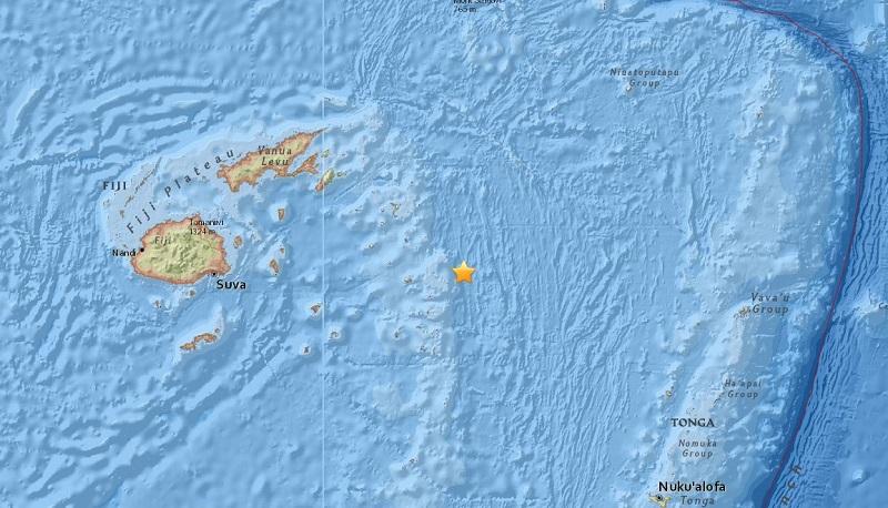 Terremoto de 8,2 sacude el océano Pacífico