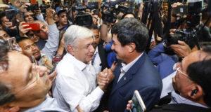 Llega AMLO a Ciudad Juárez para iniciar foros de paz