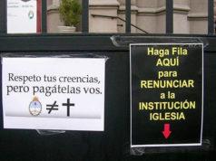 Miles de católicos argentinos renuncian a la Iglesia; no se sienten representados