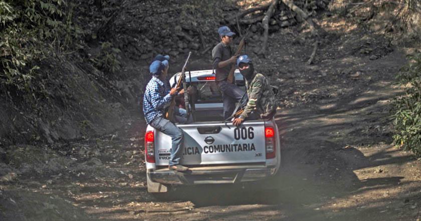 Policía comunitaria autodefensas Morelos crimen organizado imagen ilustrativa