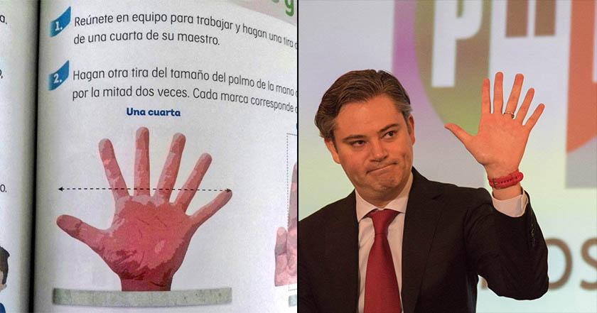 SEP habla de la mano con 6 dedos en libro de texto, sí fue 'una errata'