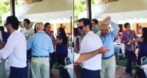 Tiburón a la vista_ reaparece Carlos Salinas de Gortari bailando en la 'Salinada 2018'