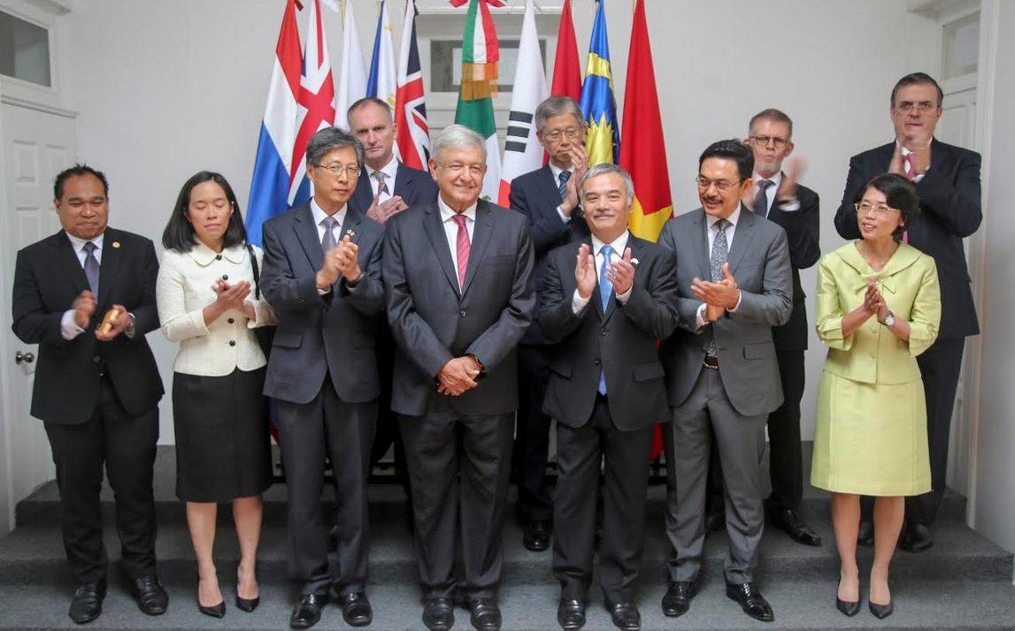 Conferencia de Marcelo Ebrard tras reunión de AMLO con embajadores asiáticos