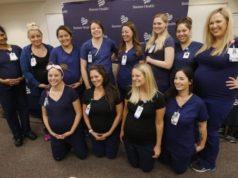16 enfermeras que trabajan en el mismo lugar se embarazan al mismo tiempo