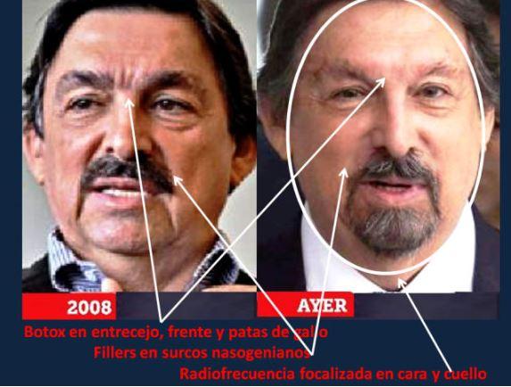 Mineros respaldan en el Senado a Gómez Urrutia