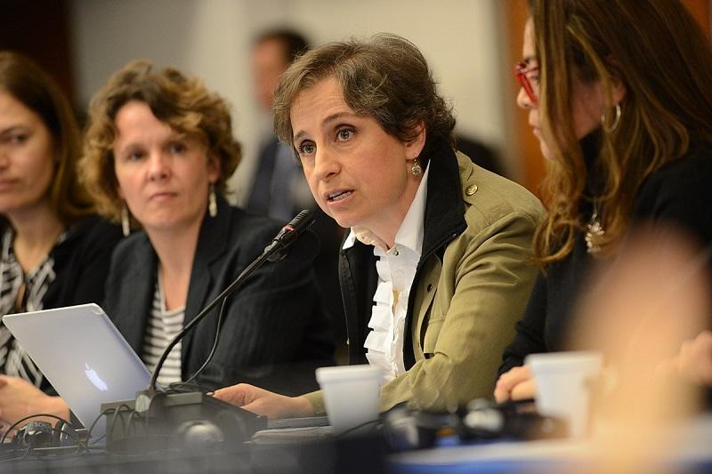 Carmen Aristegui regresa a la radio mexicana tras tres años de ausencia