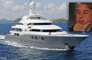 Azcárraga Jean malbarata su yate de lujo; lo vendió a mil 996 mdp