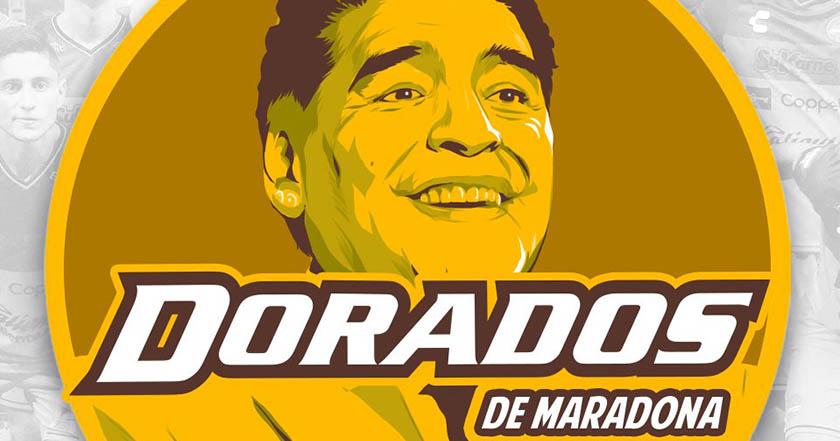 Confirman que Maradona será entrenador de Los Dorados de Sinaloa