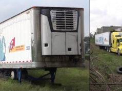 Fiscalía de Jalisco abandona tráiler con 157 cadáveres en Tlajomulco de Zúñiga