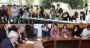 Graue firma pliego petitorio de estudiantes del CCH Azcapotzalco
