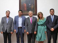 IVA e ISR bajan y salarios se incrementan en zona franca, acuerda AMLO con gobernadores del norte