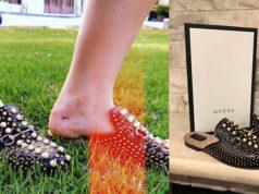 Lo caro no era el tatuaje; Sofía Castro llevaba pantuflas de 35 mil pesos y perlas incrustadas