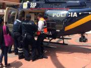 Mujer entró en pánico y cayó por las escaleras durante simulacro del 19