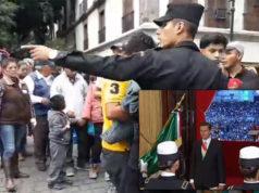 Otra vez llevaron acarreados para grito de Peña Nieto el 15 de septiembre